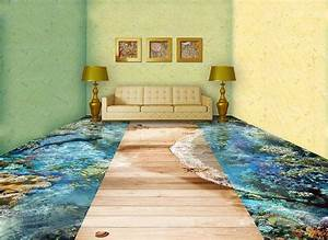 Revêtement De Sol Intérieur : les sols prennent vie gr ce la technologie 3d on vous ~ Premium-room.com Idées de Décoration