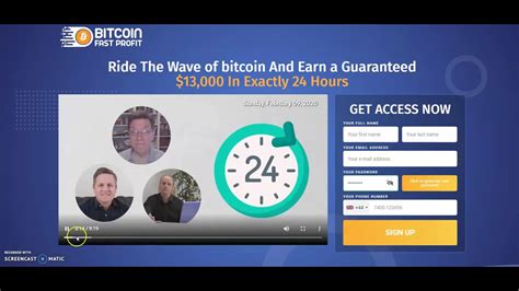 Bitcoin profit is equipped with the 6 most famous trading indicators and to 7 different timeframes. Bitcoin Fast Profit Review. Scam App! Liars Caught Red ...