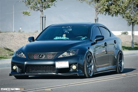 stanced lexus stanced lexus is f