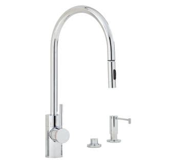 air in kitchen faucet faucet com 5300 3 ap in antique pewter by waterstone