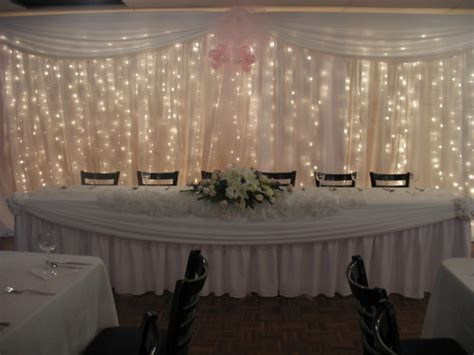 Wedding Fairy Light Curtain Lights For Hire, Rent, Or