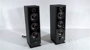 1285, -, Genius, Sp-hf2020, Two, Tower, Speaker, System, Video, Review
