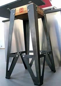 Bar Style Industriel : indus gamme de mobilier design original de style industriel bruno grange cossou ~ Teatrodelosmanantiales.com Idées de Décoration