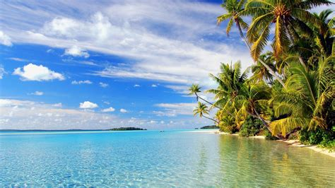 tropical beach wallpaper desktop 183 wallpapertag