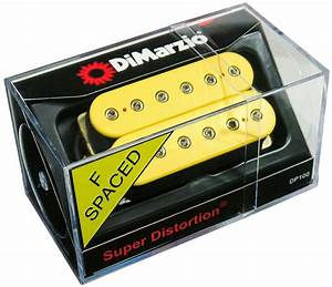 Dimarzio Dp100 Super Distortion Humbucker Guitar Pickup