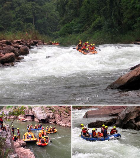 Parts Of Rafting Boat by Rubber Boat Rafting At Nam Wa River Nan Thailand Guide