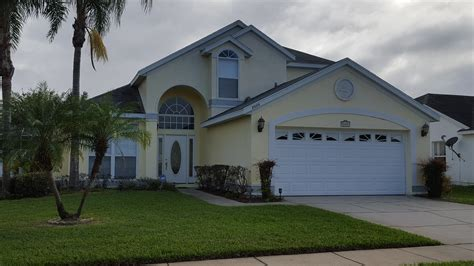4 Bedroom Rental Homes by Kissimmee Vacation Home 4 Bedroom Vacation Homes Orlando