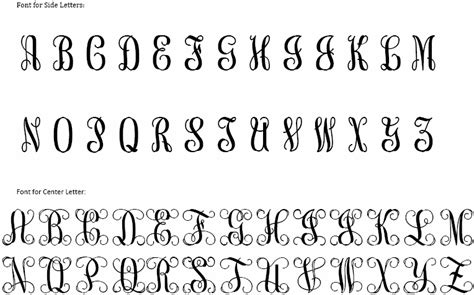 classic wood monograms classic prep monograms