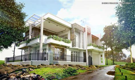 modern houselocation  malabesri lanka  scene