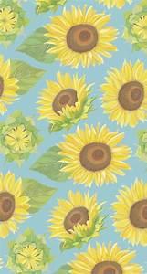 Sunflower Pattern Tumblr