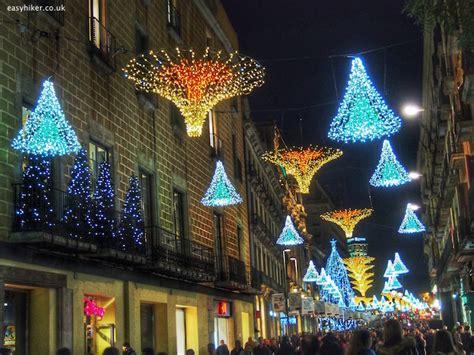 barcelona city of christmas lights
