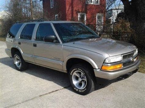 Look At A 2002 Chevy Blazer Youtube