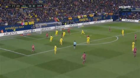 Barcelona x Villarreal Ao Vivo - YouTube