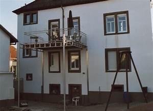 Balkon Nachträglich Anbauen : gel nder balkongel nder in edelstahl an einem edelstahlbalkon der nachtr glich angebaut ist ~ Sanjose-hotels-ca.com Haus und Dekorationen