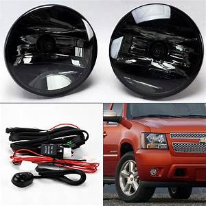 Smoke Fog Lights W   Wiring For Chevy Avalanche Tahoe