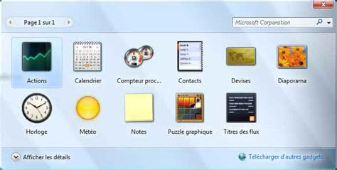 gadget de bureau gratuit gadgets vista calendrier websitegala6