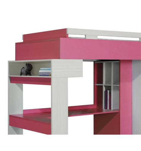 bunk bed desk combination libellule designer bunk bed desk combination rose