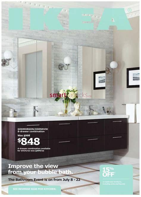 using two godmorgon vanities together bath pinterest