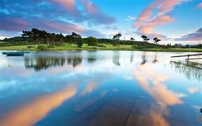 Lake Landscape Summer Nature Desktop Wallpapers Lakes