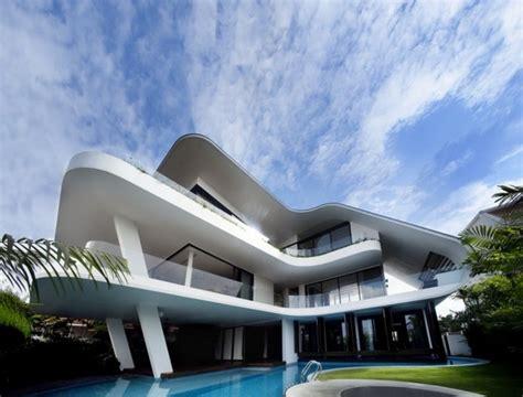 siglap house unconvetional modern architecture ninety7 siglap house in singapore freshome com