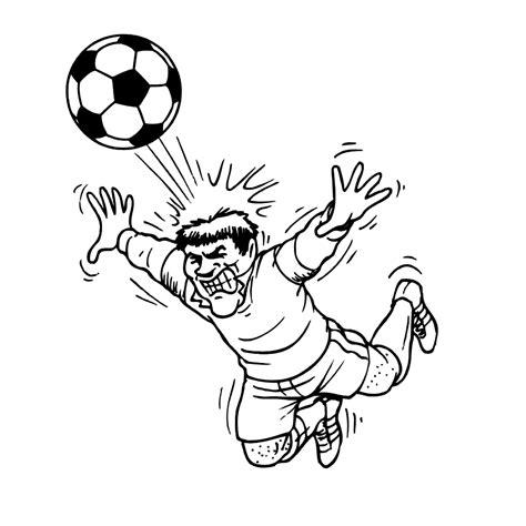 Voetbal Kleurplaat by Sport Voetbal Kleurplaten Kleurplatenpagina Nl