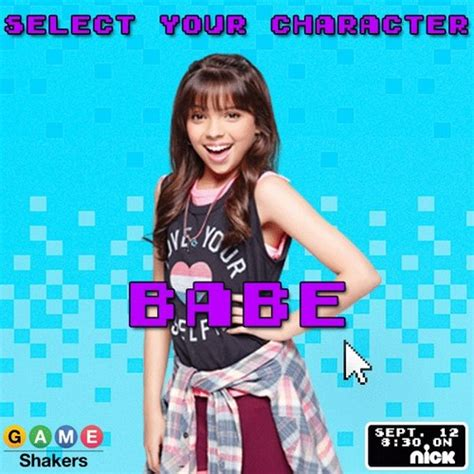 game shakers images babe wallpaper  background