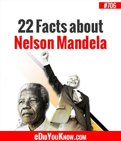 Facts About Nelson Mandela