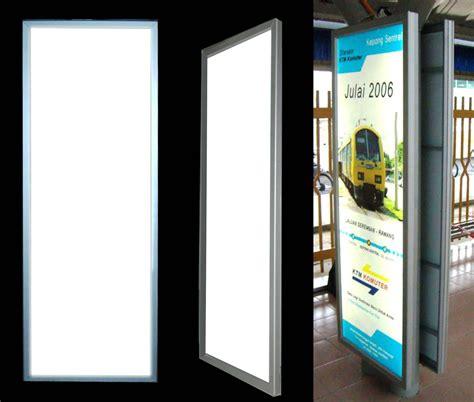 light box led display moonbright advertising slim thin light box light panel