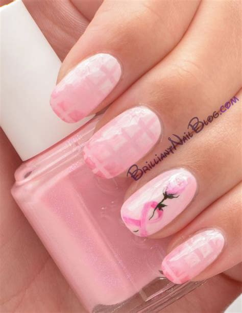 breast cancer nail designs breast cancer awareness nail brilliantnail f s