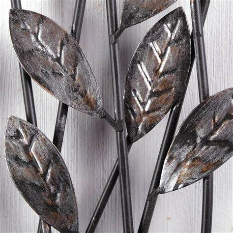 wanddeko metall silber wanddeko zweige quot metall 62 cm silber braun wanddekoration mit blumen quot kaufen bei
