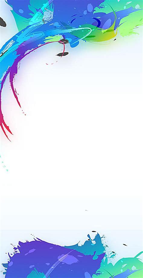 exquisito diseno de cartel creativo siete color display