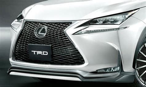 lexus nx  trd styling accessories