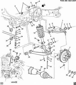 2002 Chevy Venture Front Suspension Parts Diagram