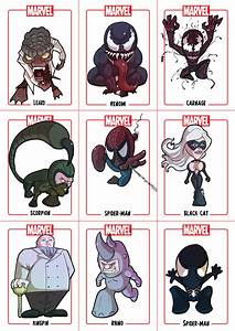 Chibi Spider-Man Sheet 2 by Juggertha on DeviantArt