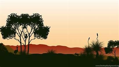 Bush Australian Wallpapers Outback Background Bbq Desktop