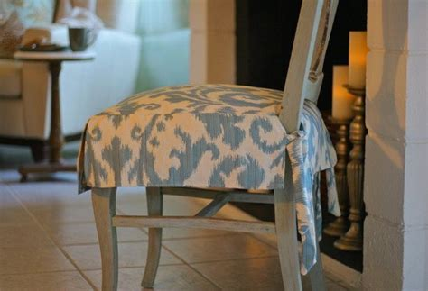 fabric seat covers  dining chairs home furniture design