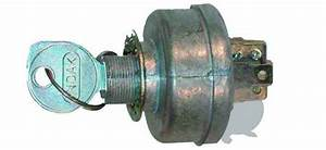 Universal Ignition Switch With Key - 3 Positions