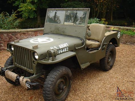 willys army jeep willys jeep military vehicle