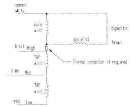 general procedure for calculating the performance of permanent split capacitor psc motors