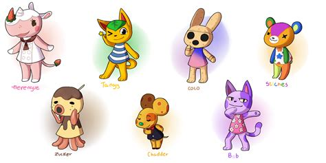 animal crossing  villagers  quarbie  deviantart