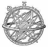 Sphere Armillary Drawing Tattoo Gyroscope Clipart Sextant Illustrations Clip Ancient Vector Illustration Google Compass Astronomy Similar Xix Engraving Hundreds Century sketch template