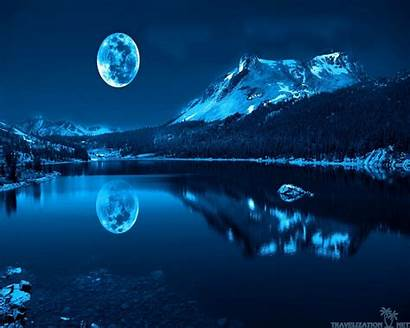 Moon Nature Wallpapers Lake Desktop Beauty Colour