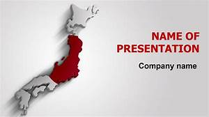 download free japan flag powerpoint theme for presentation With japan powerpoint template free