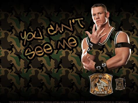 John Cena You Can't See Me - WWE Superstars, WWE