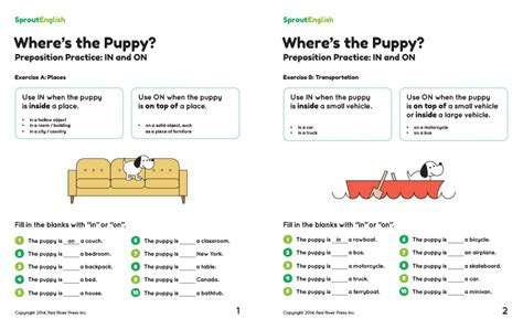 prepositions sprout english