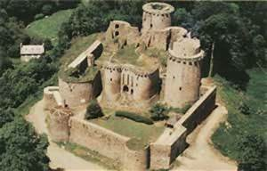 Castle of Tonquedec Brittany region French castle Tourism