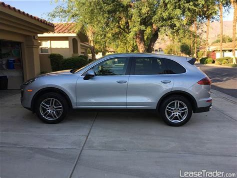 Lease A Porsche Cayenne For