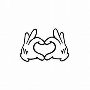 Galleon - Mickey Mouse Disney Hands Temporary Tattoo (Set ...