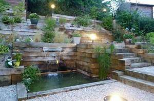 Amenagement exterieur maison terrain en pente 3 jardin for Idees pour la maison 2 amenagement paysager lacourse conseils