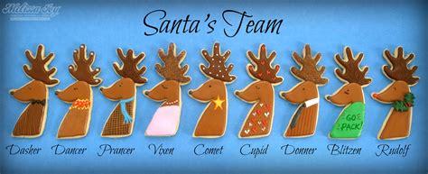 Santa S Reindeers   New Calendar Template Site